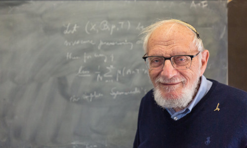 Hillel Furstenberg of Hebrew University of Jerusalem